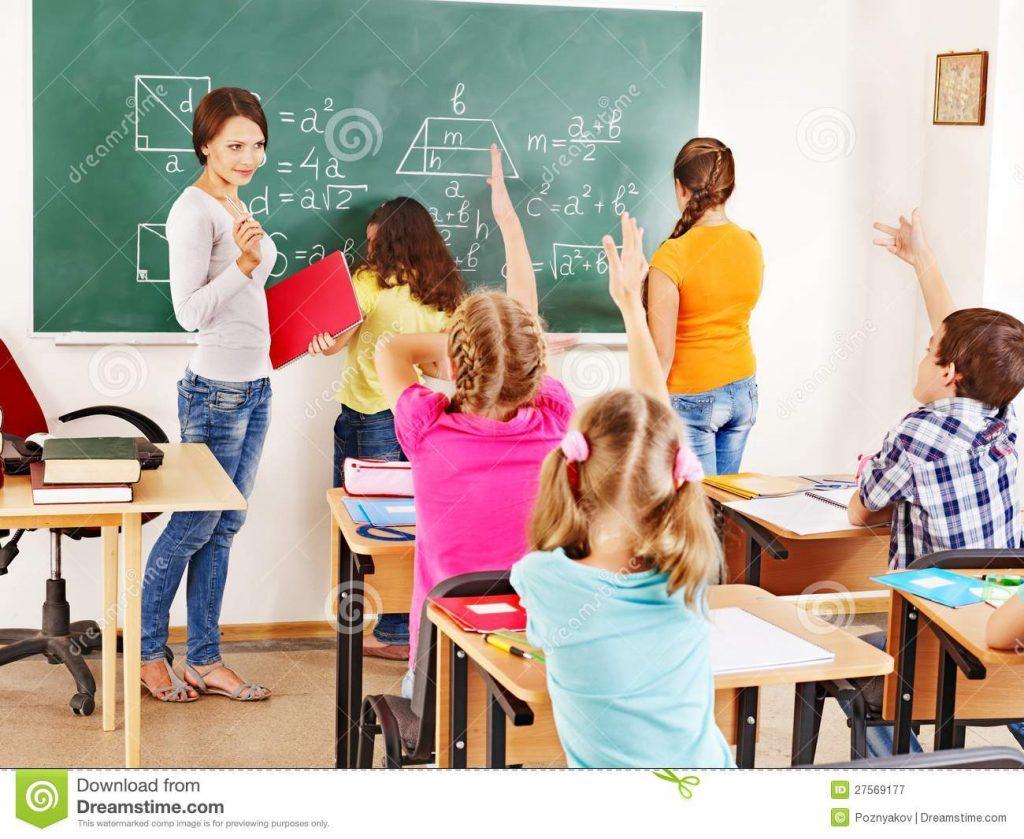 Avem nevoie ca profesorii sa intre in clase.